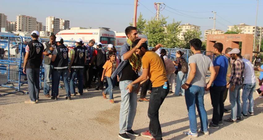 Diyarbakır'da geniş güvenlik önlemleri
