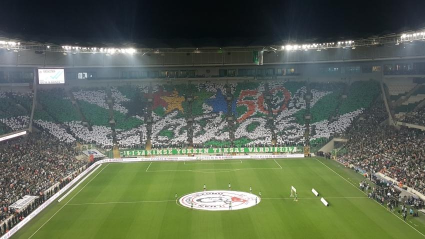 Bursaspor ilk 100'de