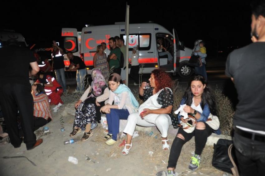 Bursa'da otobüs faciası: 33 yaralı