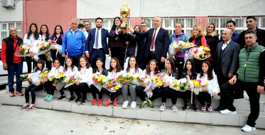 Bursa'nın şampiyon atletleri