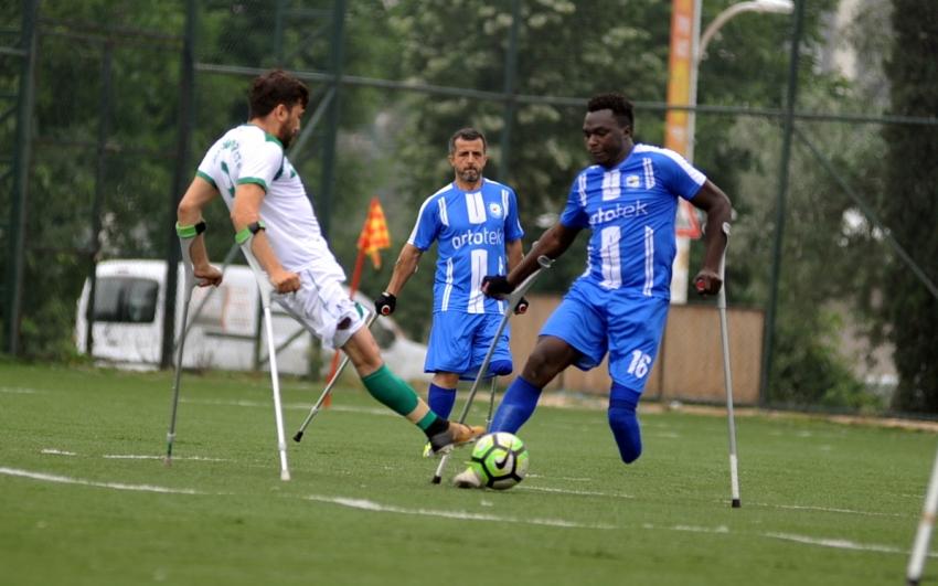 Bursa Ampute, Şampiyona direnemedi: 0-6