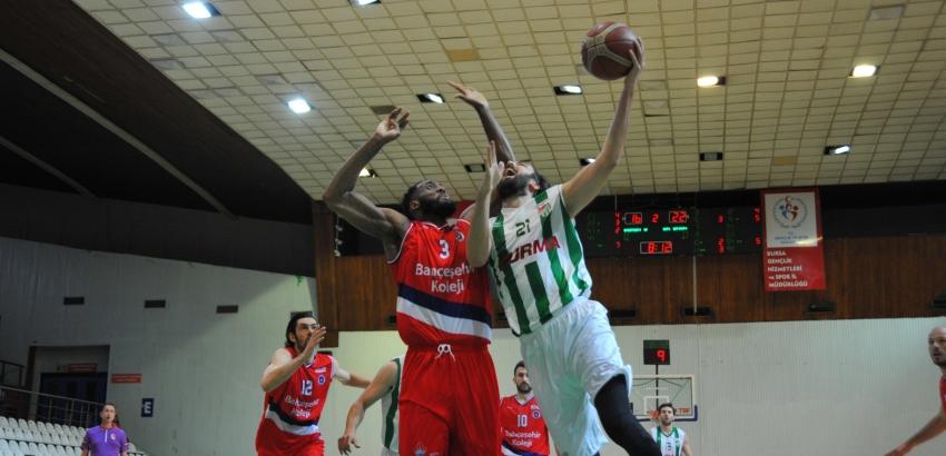 Bursaspor Durmazlar 64-69 Bahçeşehir Koleji