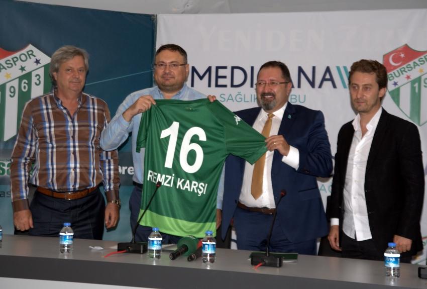 Medicana Bursaspor'un yanında