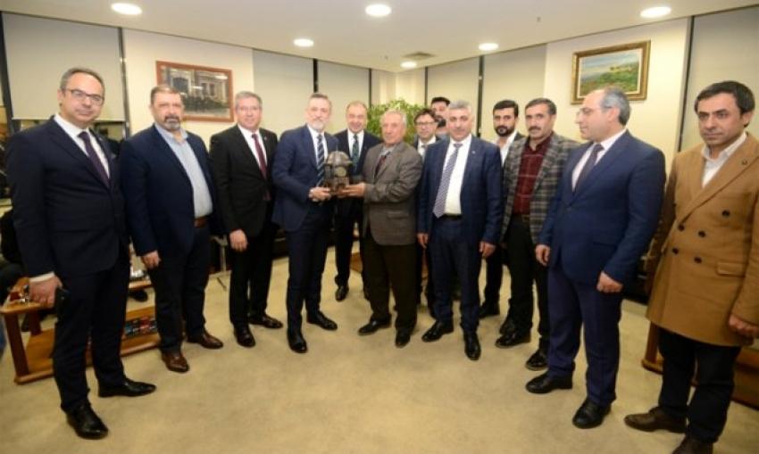 Bursa- Doğubayazıt kardeşlik köprüsü güçleniyor