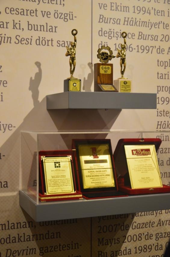 Yılmaz Akkılıç Bursa Araştırmaları Ödülleri sahiplerini buldu