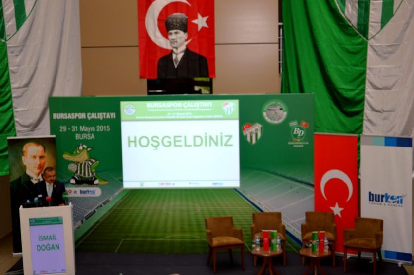 Bursaspor Çalıştayı başladı (3.GÜN)