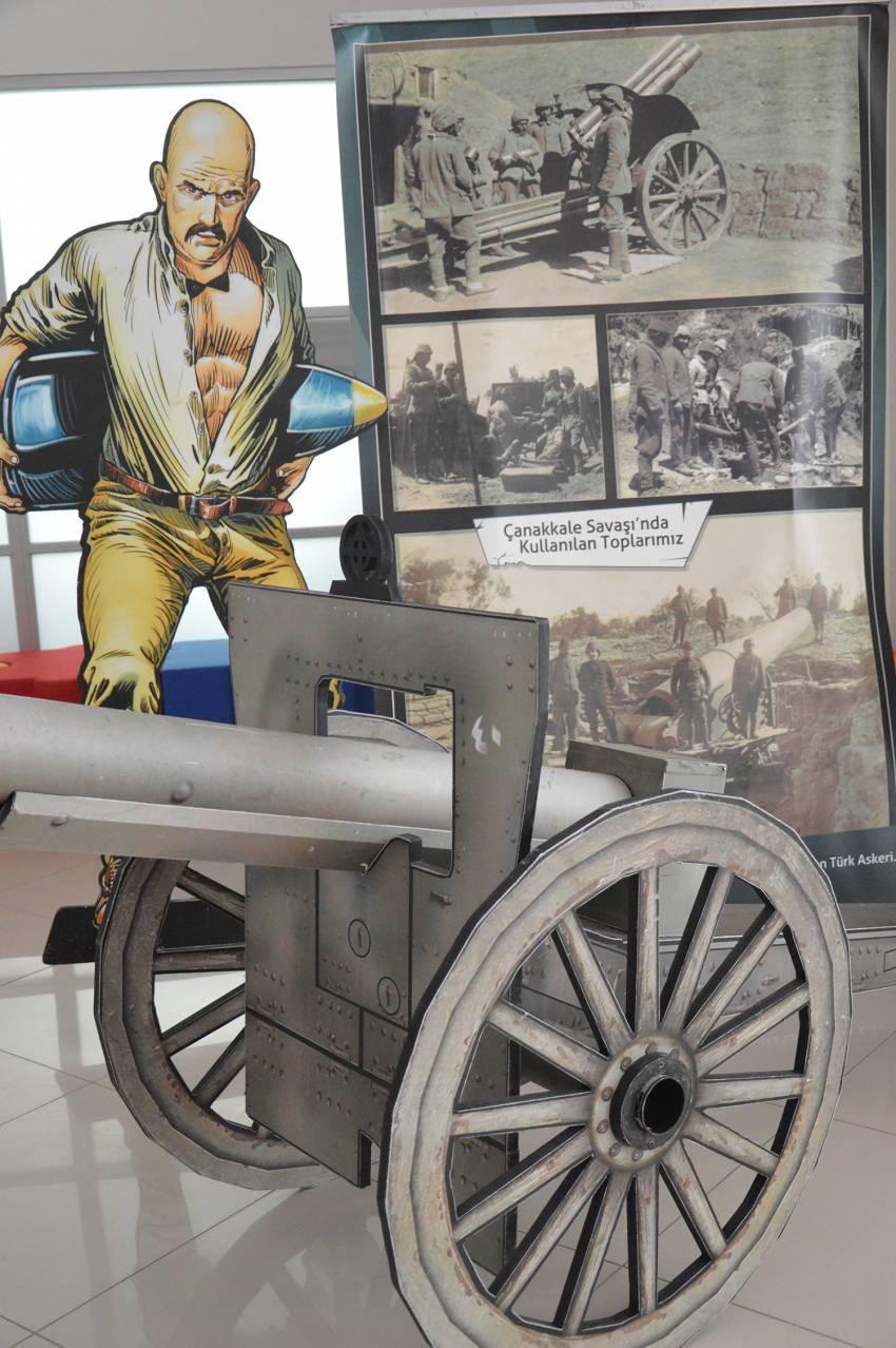 101. Yıl Çanakkale Müzesi ve Fotoğraf Sergisi, Amerikan Kültür Okulları'nda