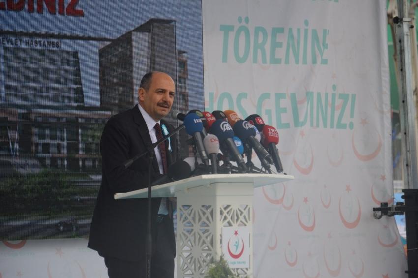 Bursa'ya 450 milyon liralık sağlık üssü
