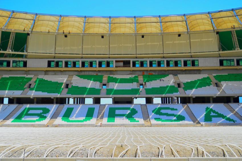 Timsah Arena'da bir değişiklik daha