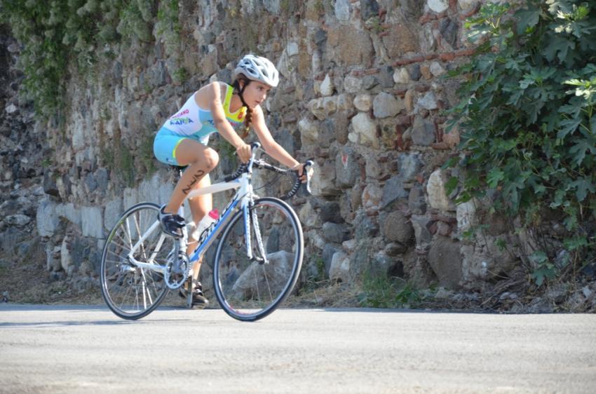 İznik triatlonundan renkli görüntüler