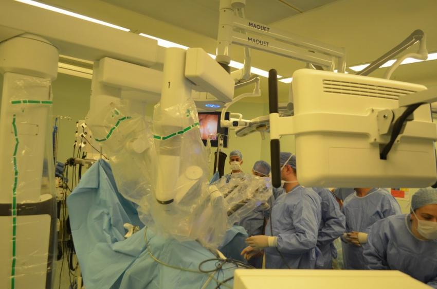 Bursa'da robotik cerrahi dönemi başladı!
