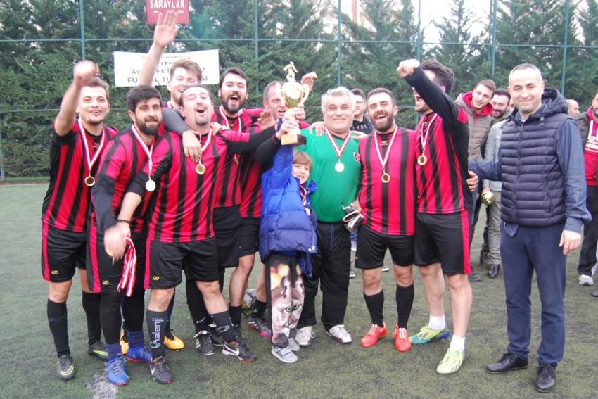 Bursa Barosu Futbol Turnuvası'nda şampiyon belli oldu