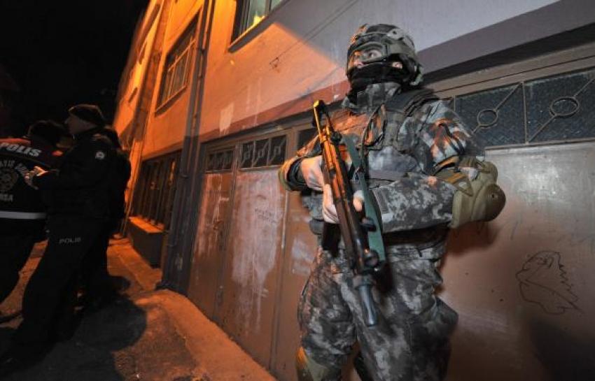 Bursa'da 4 bin polisle büyük operasyon