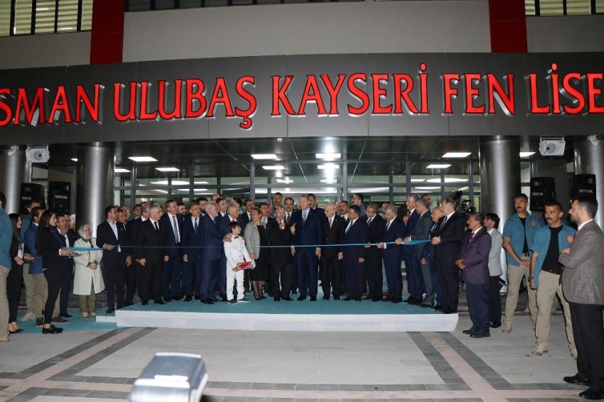 Erdoğan ve Yıldırım okul açılışına katıldı