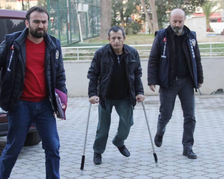 5 kişiyi silahla rehin alan engelli şahıs tutuklandı