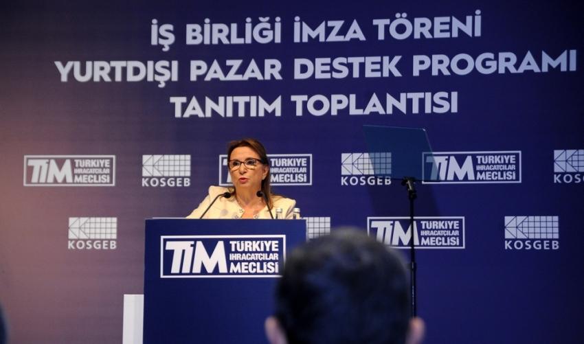 Bakan Pekcan: ''Bu sene KOBİ'lere 1,7 milyar dolar ihracat desteği verdik''