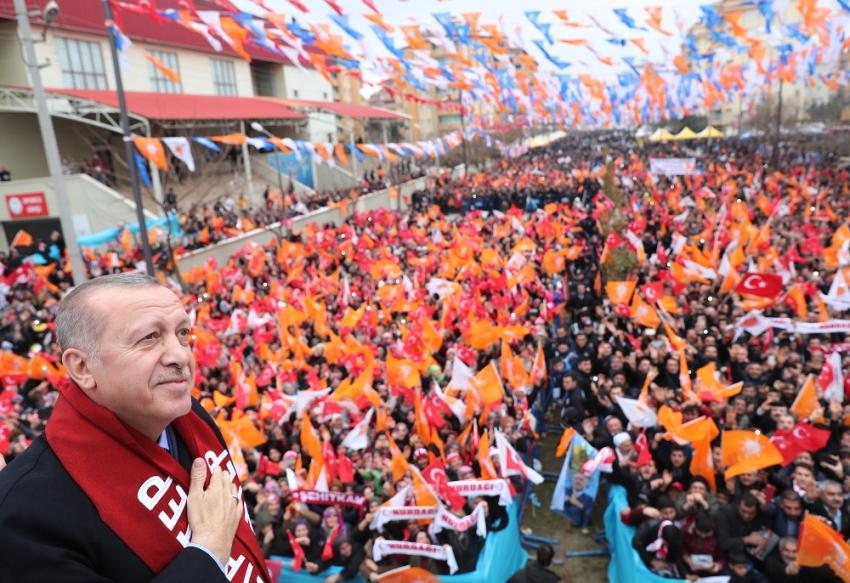 Erdoğan Gaziantep'te halka seslendi