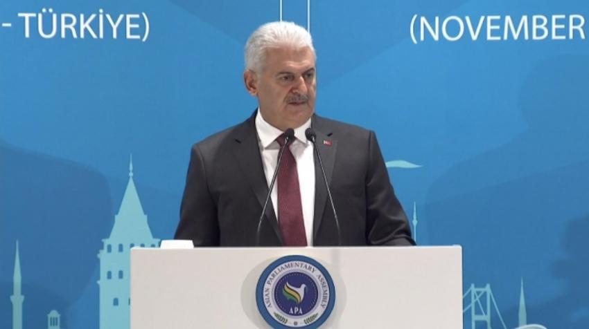 """Yıldırım: """"PKK ve PYD küresel terör örgütleridir"""""""