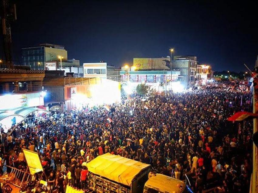 """""""Türk Restoranı"""" Irak'taki protestoların simgesi oldu"""