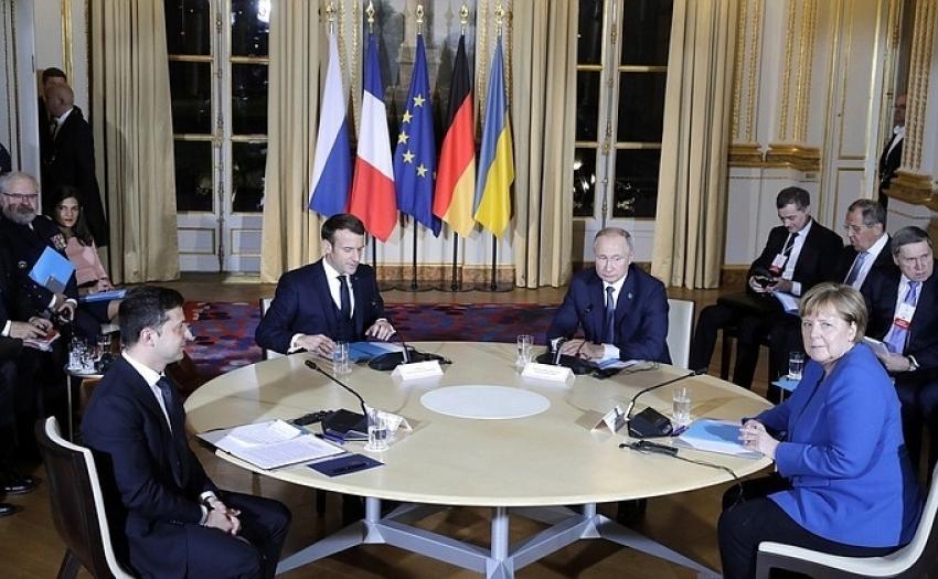 Normandiya Dörtlüsü'nün yeni zirvesi Paris'te başladı