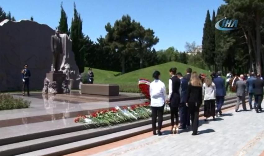 Haydar Aliyev doğum gününde anıldı