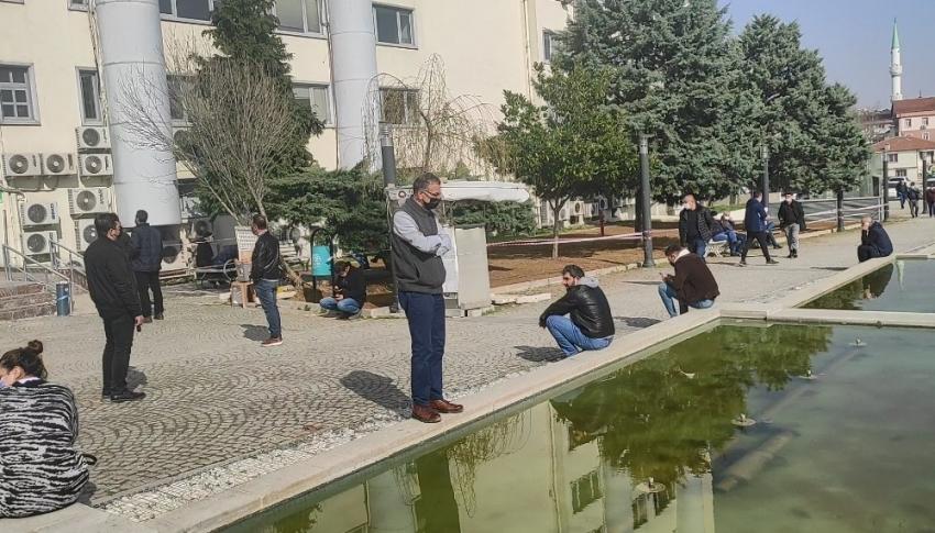 Bursa'da onları dışarıda görenler şaşırdı