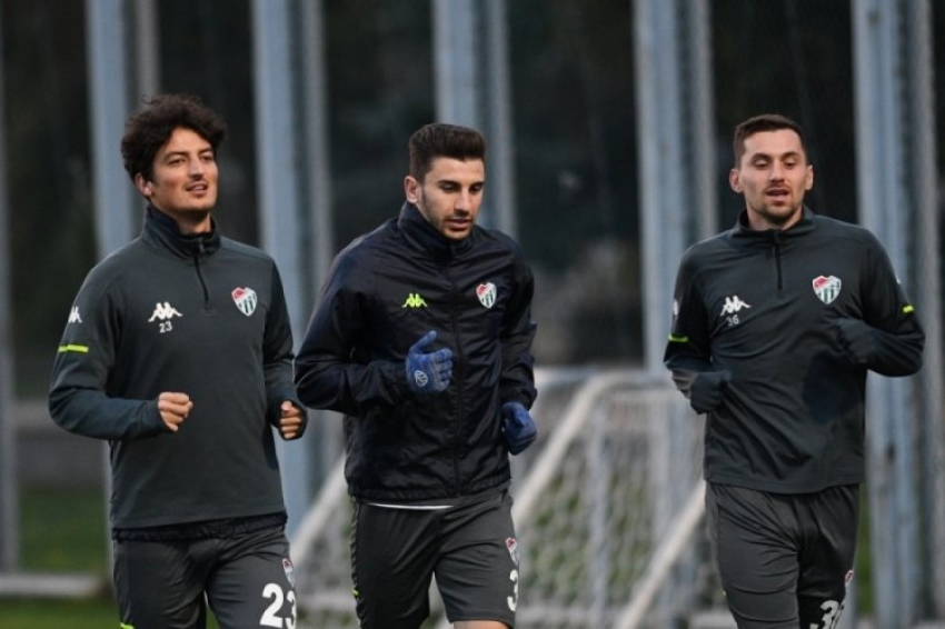 Bursaspor'da Altınordu hazırlıkları başladı