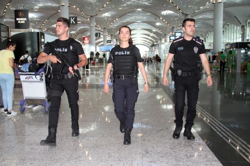 """İstanbul Havalimanı'nda """"Acil Müdahale Timleri"""" göreve başladı"""