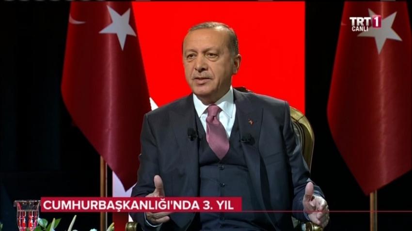 Cumhurbaşkanı Erdoğan o fotoğrafı anlattı