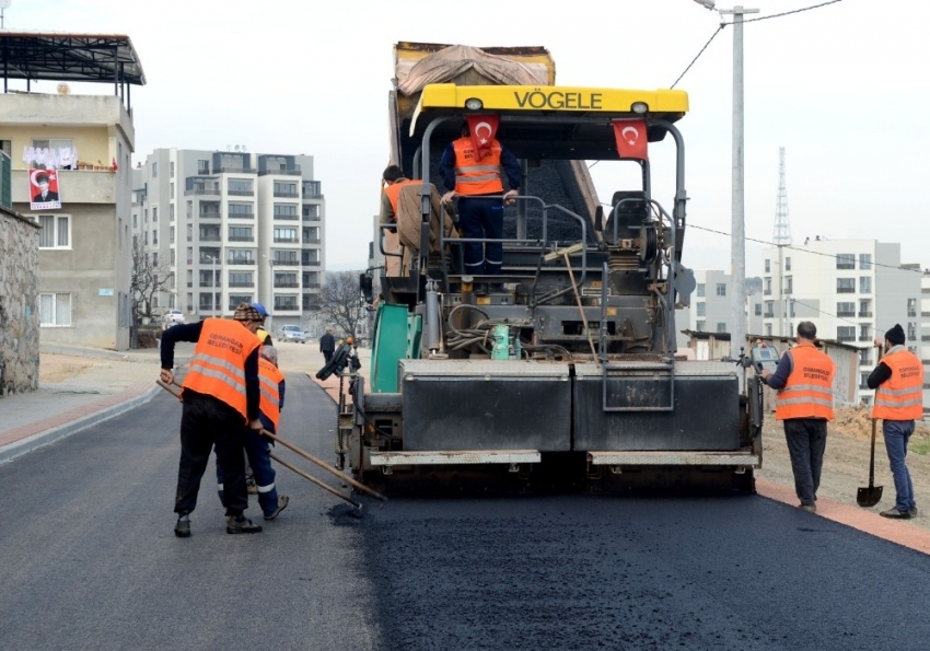 Osmangazi'de asfalt çalışmaları tam gaz