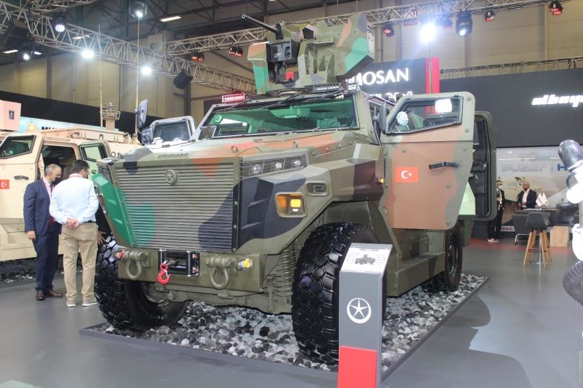 Yerli askeri araç PUSAT'a büyük ilgi