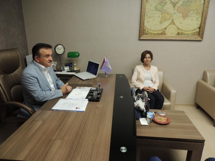 """Oda başkanından CHP'li vekile eleştiri: """"İcraatlarınızı anlatın"""""""