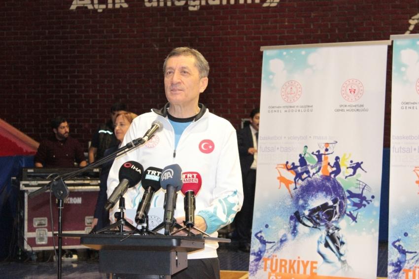Bakan Selçuk 'Türkiye Öğretmenler Kupası Ödül Töreni'ne katıldı