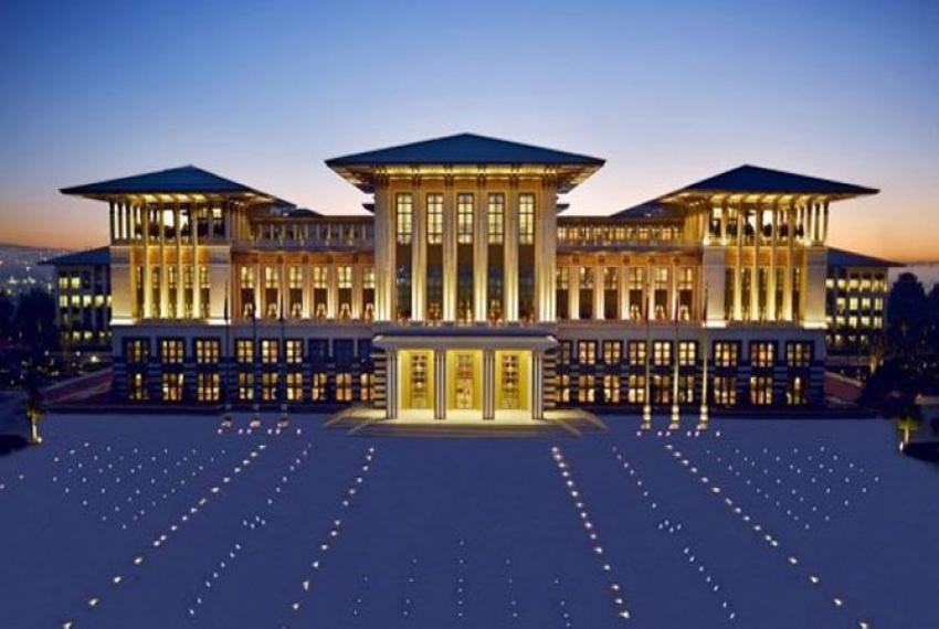 Cumhurbaşkanlığı Sarayında panoramik sanal tur