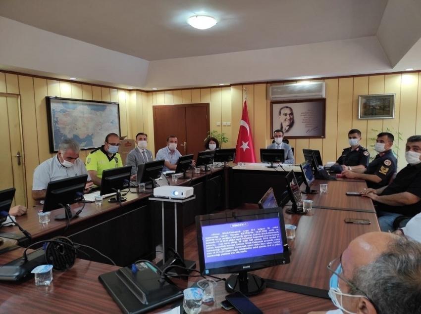 Osmancık ilçe trafik komisyonu toplandı