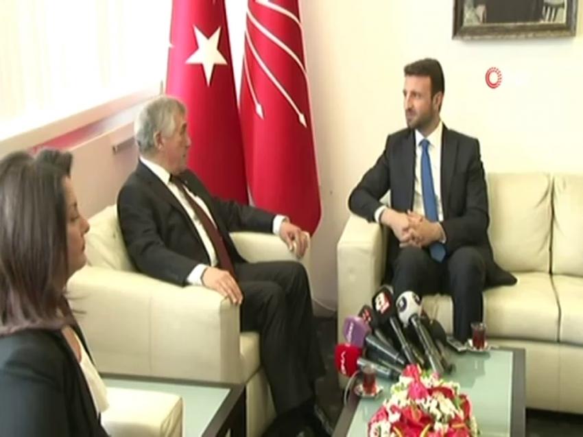 CHP heyeti, AK Parti heyeti ile bayramlaştı