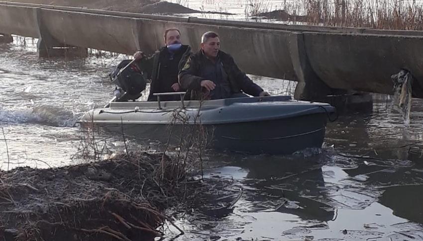 2 kişi kaçak avlanmaktan yakalandı