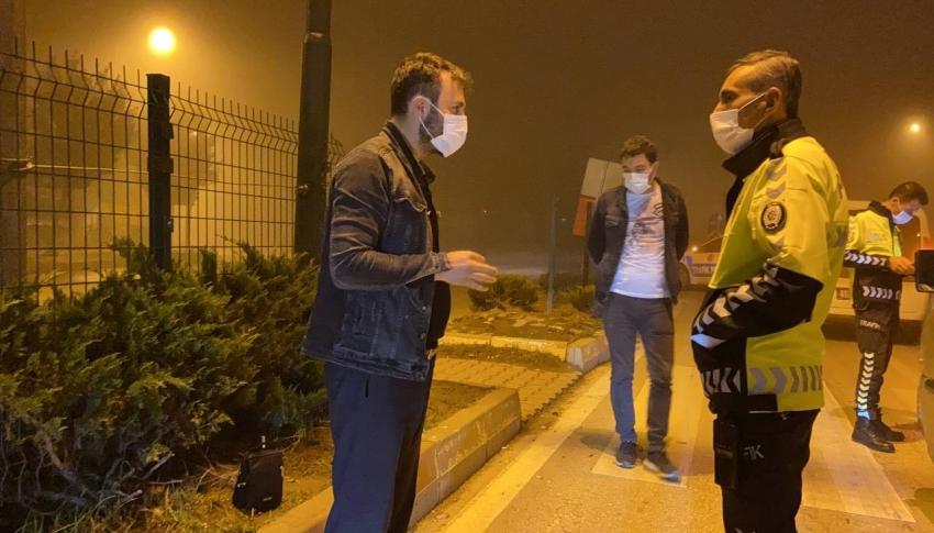 Bursa'da alkollü sürücüden pes dedirten davranış