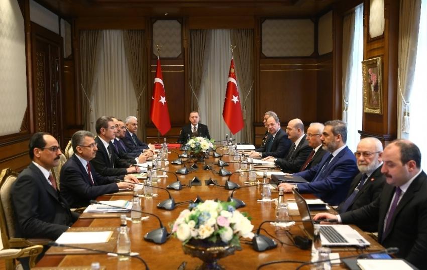 Beştepe'de Güvenlik Toplantısı