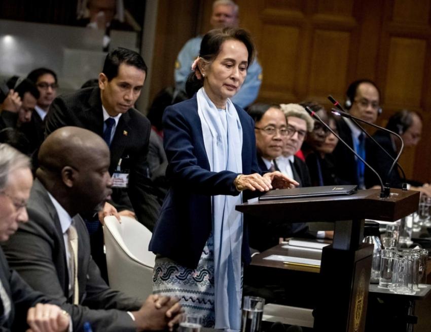 Myanmar lideri Suu Kyi, soykırım iddialarını reddetti