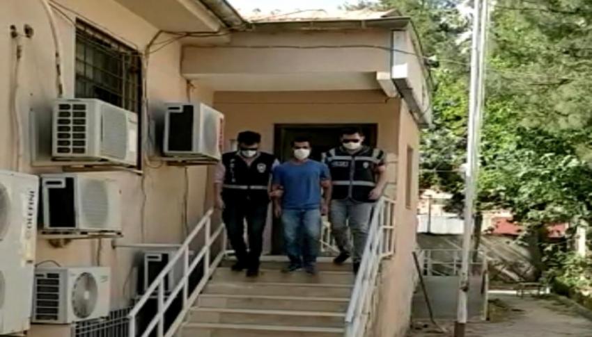 Yardım kolisini çaldı, polis şüpheliyi yürüyüş şeklinden...