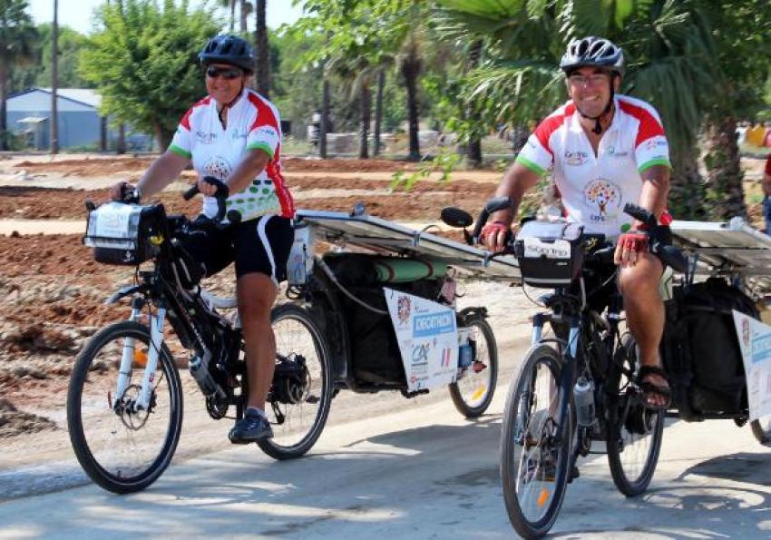 Kansere karşı pedallı mücadele