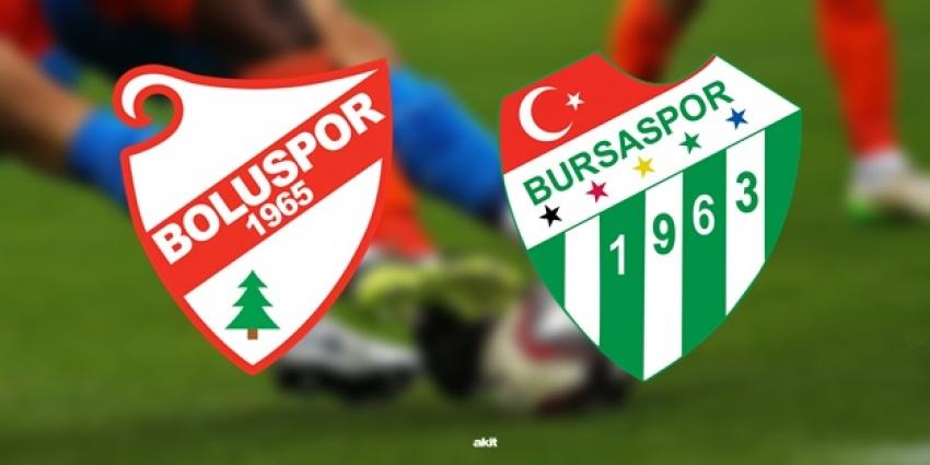 Bursaspor'un maçı var