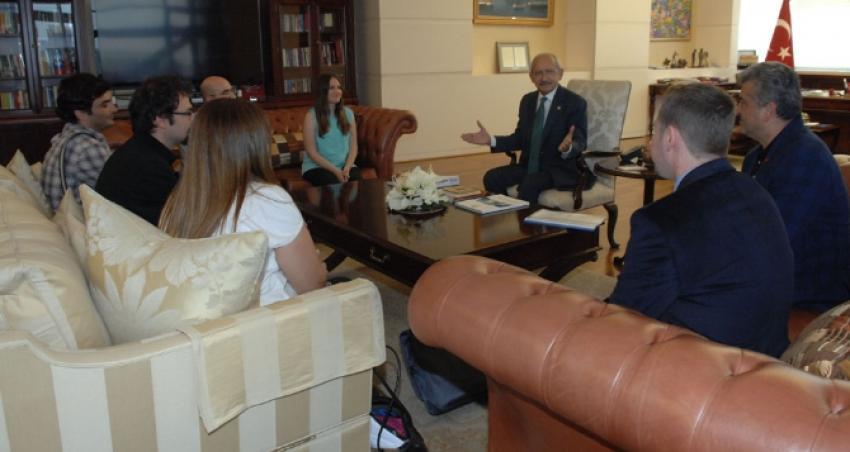 CHP lideri Peyzaj Mimarları Odasını konuk etti