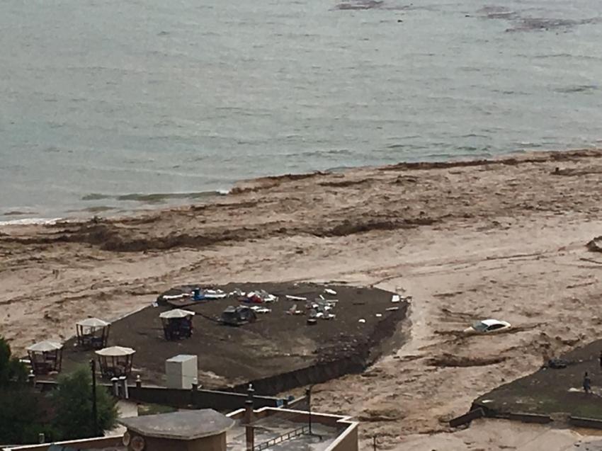 Şiddetli yağışlar Cumayeri ve Akçakoca ilçelerini vurdu