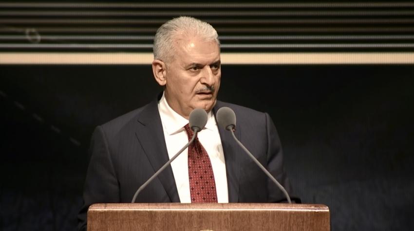 Başbakan Yıldırım Yargıtay'ın 150. yılı töreninde konuştu