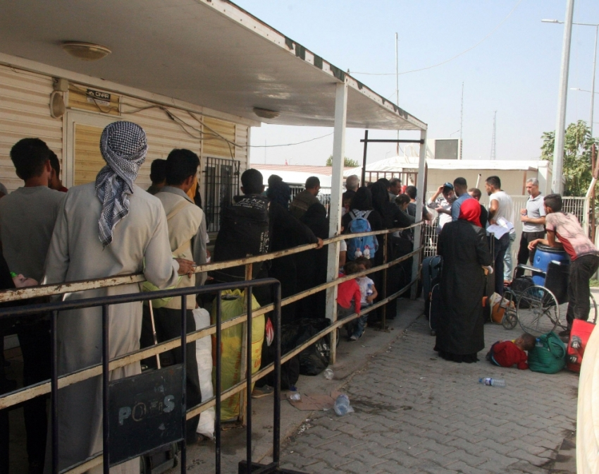 Suriyelilerin bir kısmı kesin dönüş yapıyor