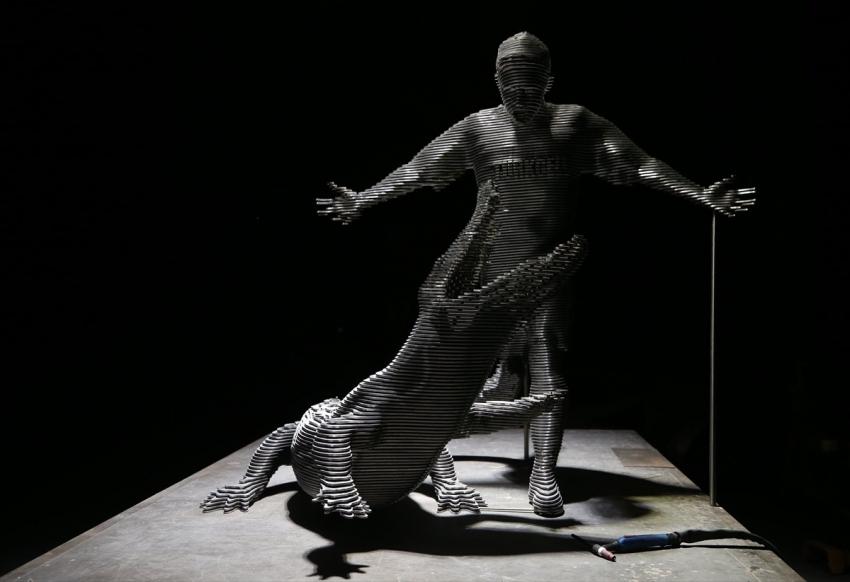 Batalla heykeli ile ölümsüzleştirildi