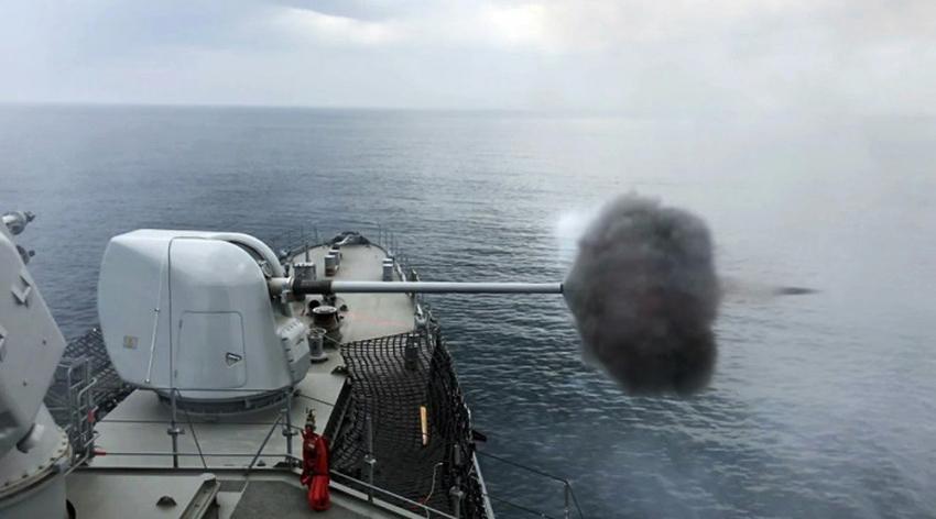Deniz Kurdu-2019'da hava savunması atışları başarı ile tamamlandı