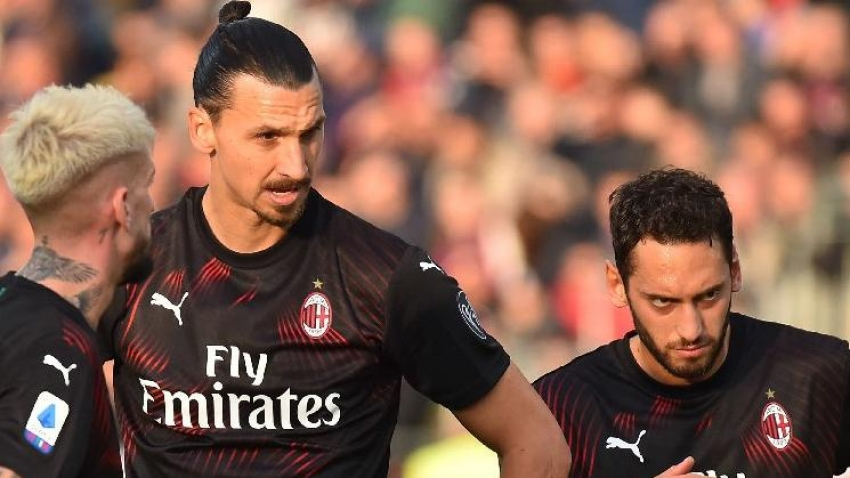 Hakan Çalhanoğlu ile Ibrahimovic dostluğu bitti